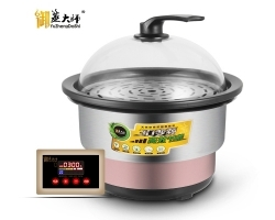 海鮮蒸汽火鍋真的是完全靠高溫蒸汽烹制食物