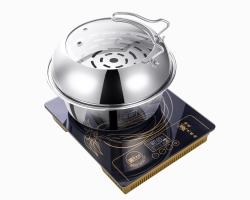 蒸汽火锅能够完成烹饪方式有蒸、煮、焖、涮