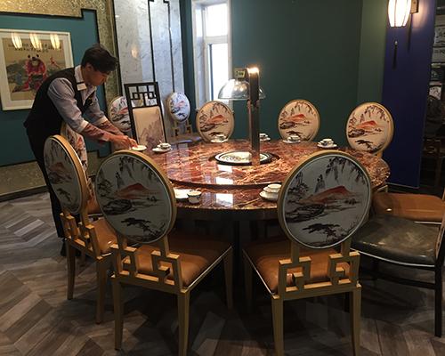 上海蒸汽火锅餐桌定制