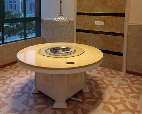广西蒸汽海鲜桌子 蒸汽火锅桌子